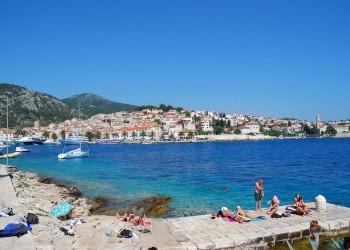 ilhas croatas (Hvar, Brac, Mljet ...)